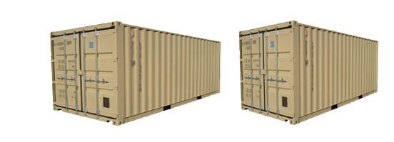 Dimensiuni containere depozitare