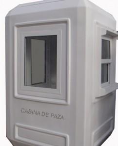 Cabina de paza sau container de paza